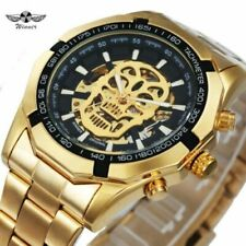 T-WINNER The Original New Fashion Mechanical-Automatic Watch Men Skull Design