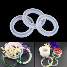 Silicone Mold Casting Mould For Resin Bangle Bracelet Jewelry Making DIY Tool