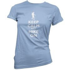 Keep Calm And Hike On - Mujer / Camiseta - Senderismo - - 11 Colores