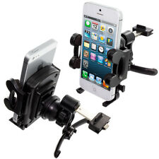 Black 360 Degree Rotating Durable Car Vent Mount Holder Stand for Cell Phones