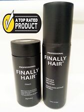 Finally Hair Building Fibre Bottiglia & Blocca Capelli Spray - Perdita Kit USA