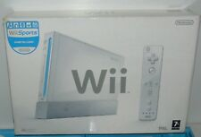 Nintendo Wii White Console (PAL RVL-001) With all Leads and Controllers - Boxed