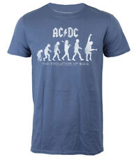 Ac/Dc Official Camiseta The Evolution Of Rock Angus Young Australian Rock Acdc