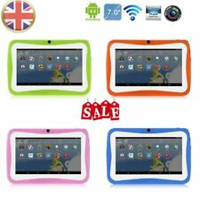 "7"" INCH KIDS ANDROID 4.4 TABLET PC QUAD CORE WIFI HD CHILD CHILDREN 8GB MU"
