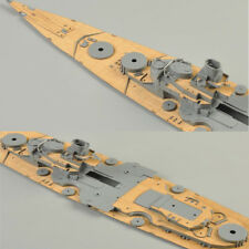 6 Types Wooden Deck For Tamiya 1:350 Trumpeter 1:200 Model With Anchor Chain
