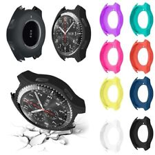1x Luxury Silicone Strap Watch Band Case Cover For Samsung Gear S3 Frontier New