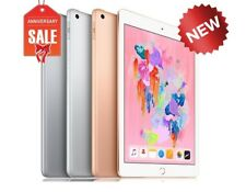 "NEW Apple iPad 6th gen 2018, 32GB WiFi 9.7"" Touch ID GOLD GRAY SILVER"