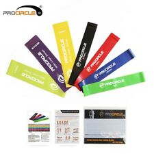 Exercise Resistance Loop Bands Set 11 Levels elastic band for fitness Training .