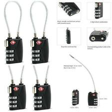 Security 3 Digit Combination Travel Suitcase Luggage Bag Code Lock Padlock D