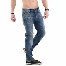 Jack & Jones Uomo Elasticizzato Jeans Pantaloni Mike Icon Blue BL780 2. Wahl