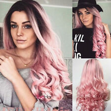 Fashion Lady 29'' Long Curly Wigs Cosplay Costume Hair Anime Full Wavy Party Wig