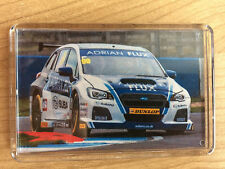 BTCC 2017 All Drivers/Cars ~ BMW Honda Ford Subaru MG Team Logo ~ Fridge Magnet