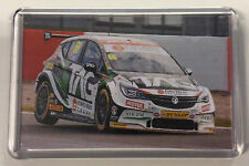 BTCC Josh Cook Ford Focus ST PMR Chevrolet Cruze 888 MG6 No.66 - Fridge Magnet