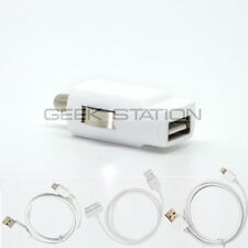 Car Charger Cable Adapter for iPad mini iPod iPhone 6 6 plus 4 4s 5 5S 5C 3gs 3g