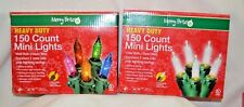 U PICK Christmas Holiday 150 CT MINI LIGHTS Light MULTI Color or CLEAR In or OUT