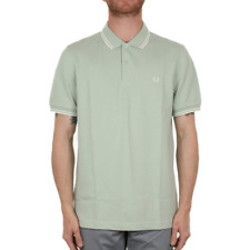 Fred Perry Twin Tipped Polo Shirt - Mint