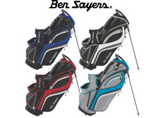 *2018* BEN SAYERS  DLX STAND BAG (VARIOUS COLOURS) 14 WAY DIVIDER