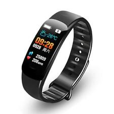 Blood Pressure Heart Rate Monitor Smart Watch Sports Bracelet Fitness Tracker CY