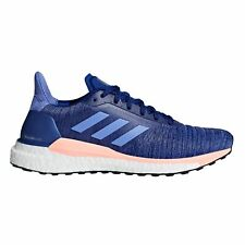 adidas Solar Glide Womens Running Trainer Shoe Ink/Orange