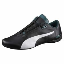 c1f5f3089b4407 NEW MENS PUMA MERCEDES MAMGP FUTURE CAT AMG SHOES WHITE BLACK TEAL 305942 02