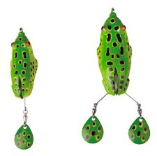 Savage Gear 3d Spin Kick FROG 10cm / 15cm rana Top WATER BAIT