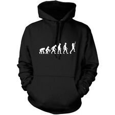 Evolution Of Man Guitarra Sudadera Capucha Unisex - con Capucha/Guitarrista/9