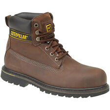 Caterpillar Mens Holton SB Safety Work Boots Brown