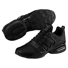 8669629813b5 new puma mens cell pro limit running shoes black dark shadow 190596-01  sneakers