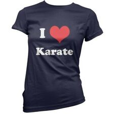 I Love Kárate - Mujer / Camiseta Mujer -11 Colores-Equipo-Uniforme