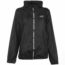 Skechers Sport Activity Shell Jacket Ladies Performance Coat Top Lightweight