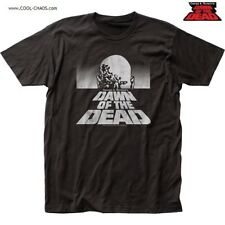 George Romero's Dawn Of The Dead T-Shirt/Horror Dotd Poster Zombie T-Shirt