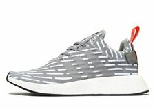 Latest Adidas Originals NMD R2, Men's Trainer(UK 9.5 & 10 & 11)WHT/GRY Brand New