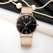 48BD Quartz Watch Plastic Mesh Belt Watch Casual Watch 6 Styles Round Watch