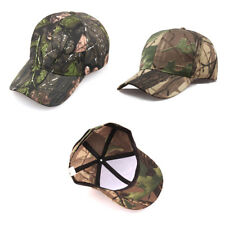 2e31dcf230a Men Women Camouflage Adjustable Cap Camo Baseball Hunting Fishing Army Sun  Hat