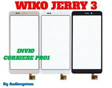 VETRO +TOUCH SCREEN WIKO per JERRY 3 RICAMBIO DIGITIZER NUOVO per MOBILE DISPLAY