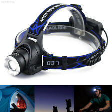 DCBA F65F Outdoor Camping Rechargeable Torch Lamp Headlight Portable Headlamp