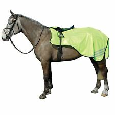 Rhinegold Horse Riding Reflective 3/4 Cutaway Hi-Viz Pony Cob Full Ride-On Rug