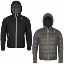 GIACCA UOMO K-WAY JACQUES THERMO PLUS DOUBLE BLACK / GREY 218