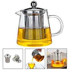 TEA Infuser Teapot with Heat Resistant Stainless Steel Infuser Perfect for Tea