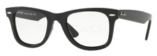 Ray Ban Reading Glasses Wayfarer Black +1.50 up to +4.50 Genuine Ray Ban Lenses!