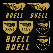Buell sticker stickers horse logo motorcycle motorsport team tuning decal set