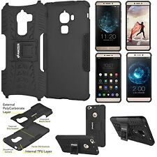 AMZER Shockproof Dual Layer Hybrid Warrior Case Stand For LeEco Letv Le Models