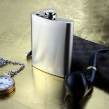 Stainless Steel Hip Liquor Vodka Alcohol Flask 7/8/10oz Pocket Wine Holder