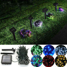 60-200 LEDs Christmas Tree LED Fairy String Party Lights Lamp Xmas Waterproof