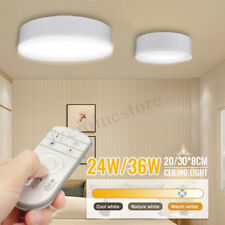 36W Dimming Bright Round LED Ceiling Down Light Panel Wall Kitchen Bathroom