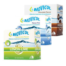 MOVICOL CONSTIPATION RELIEF 30 SACHETS ADULT JUNIOR LEMON LIME CHOCOLATE