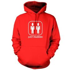 Just Married ( Novio y ) - Sudadera Capucha Unisex / con - Matrimonio Gay