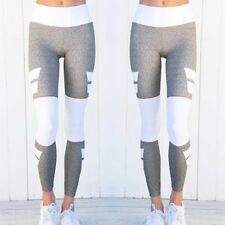Women's Print Yoga Fitness Leggings Running Gym Stretch Sports Pants Trousers