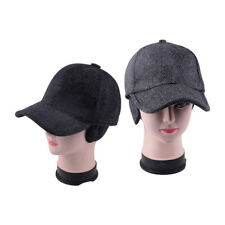 634df1725e9 Winter Men Warm Earflap Earmuffs Baseball Cap Adjustable Golf Hat Sport Hat