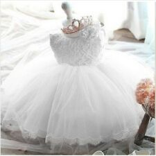 Nuovo abito bambina battesimo cerimonia feste tutu compleanno girl party dress